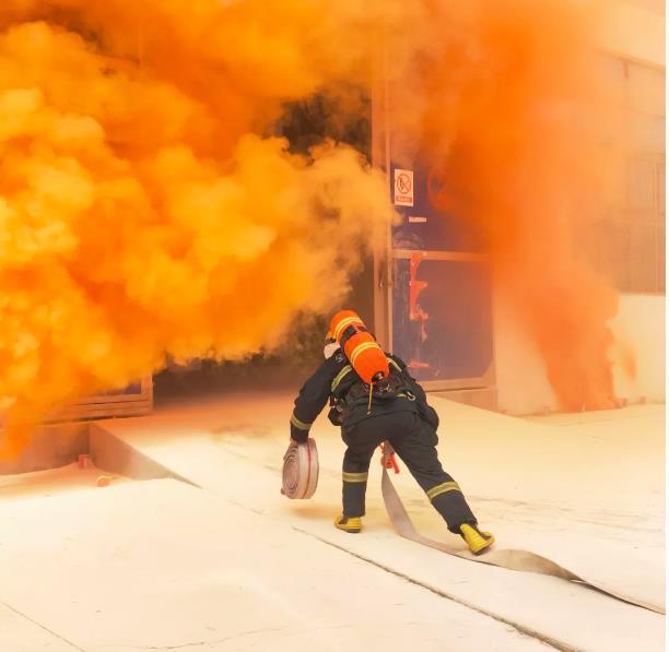 2018年桐城市安全生产(火灾)应急救援演练 在鸿润集团展开