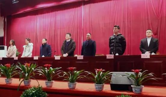 安徽鸿润集团2018年度年终总结暨表彰大会胜利召开